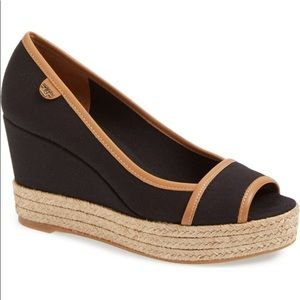 NWOT Tory Burch wedges